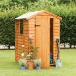 6x4 Overlap Wooden Shed with Window