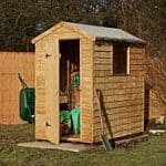 6x4 Overlap Floor Shed