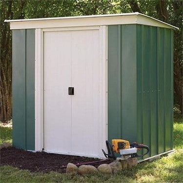 Arrow Greenvale Flat Roof Shed