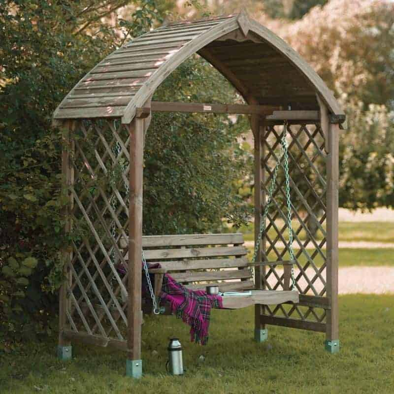 Blooma Barmouth Wooden Swing Seat What Shed