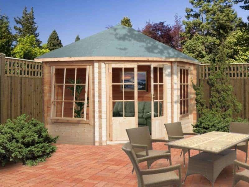 Belvoir Log Cabin