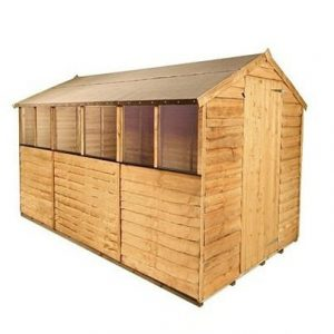 BillyOh Classic 20 Popular Rustic Overlap Apex Garden Shed