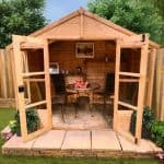 BillyOh Tete a tete summerhouse 6 x 8 Open Doors