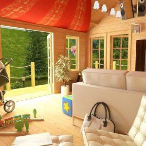 BillyOh Village Hall II 5 x 4 Living Room