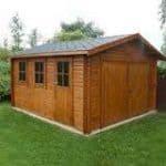 Bradenham Garage Log Cabin