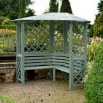 Chiltern Willow Corner Arbour