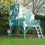 Command Post Wooden Playhouse
