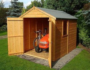 Double Door Apex Shed