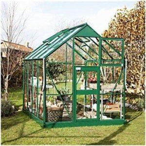 Eden Greenhouses Acorn Horticultural Glass Greenhouse