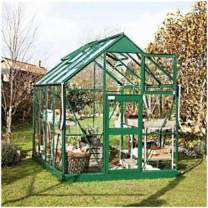 Eden Greenhouses Acorn Toughened Glass Greenhouse