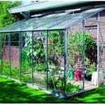 Eden Greenhouses Horticultural Glass Lean-To Greenhouse