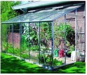 Eden Greenhouses Toughened Glass Lean-To