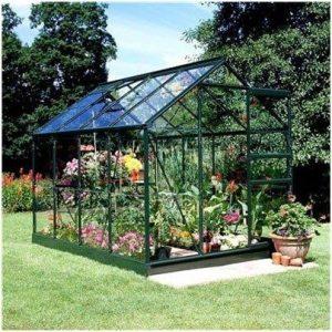 Halls Greenhouses Aluminium Horticultural Glass Popular Greenhouse
