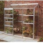 Halls Greenhouses Aluminium Lean-To Greenhouse