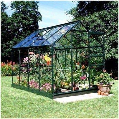 Halls Greenhouses Aluminium Toughened Glass Popular Greenhouse