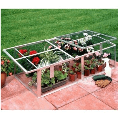 Halls Greenhouses Cold Frame with Toughened Glass