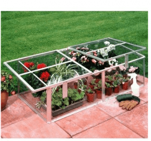 Halls Greenhouses Coldframe with Toughened Glass