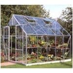 Halls Greenhouses Horticultural Short Pane Greenhouse