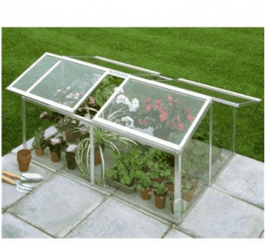 Halls Greenhouses Jumbo Cold Frame with Toughened Glass