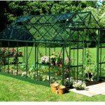 Halls Greenhouses Magnum Aluminium Short Pane Greenhouse