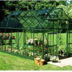 Halls Greenhouses Magnum Long Pane Aluminium Greenhouse
