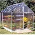 Halls Greenhouses Popular Aluminium Greenhouse with Polycarbonate Glazing