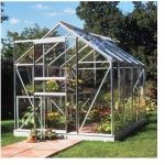 Halls Greenhouses Popular Horticultural Glass Greenhouse