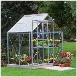 Halls Greenhouses Popular Toughened Glass Glazed Greenhouse