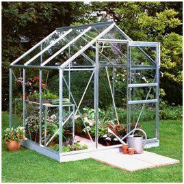 Halls Greenhouses Popular Toughened Glass Greenhouse