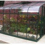 Halls Greenhouses Silverline Horticultural Glass Lean-To Greenhouse