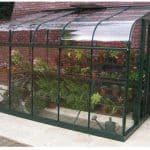 Halls Greenhouses Silverline Toughened Glass Greenhouse