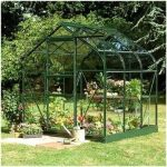 Halls Greenhouses Supreme Aluminium Greenhouse