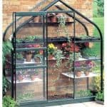 Halls Greenhouses Supreme Aluminium Greenhouse with Toughened Glass