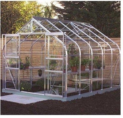 Halls Greenhouses Supreme Double Door Aluminium Greenhouse