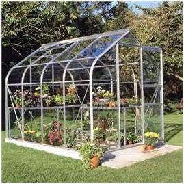 Halls Greenhouses Supreme Horticultural Glass Greenhouse
