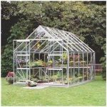 Halls Greenhouses Toughened Short Pane Magnum Greenhouse