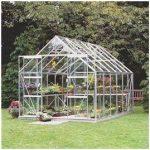 Halls Greenhouses Toughened Short Pane Magnum Greenhouse