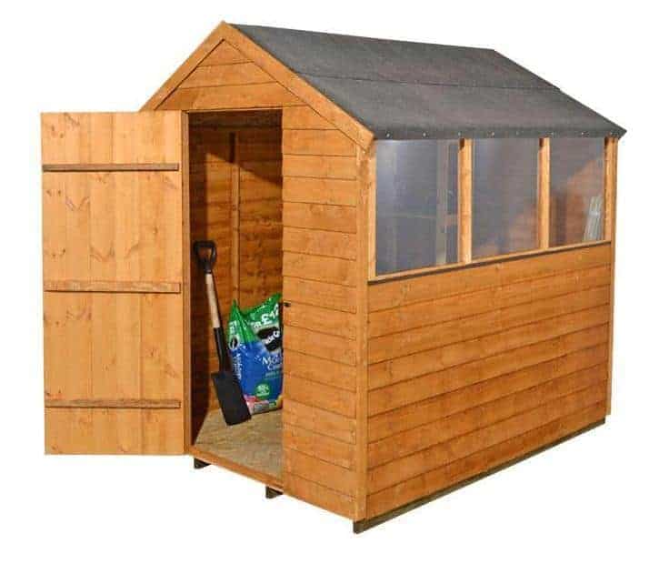 Base Overlap Wooden Shed With Three Windows What Shed
