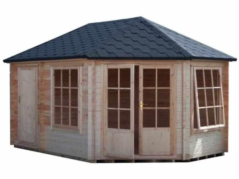Leygrove Corner Log Cabin