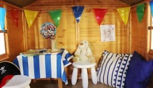 Lollipop Junior Tower Wooden Playhouse 3