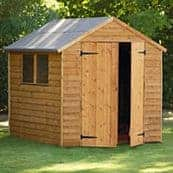 Overlap Shed with 2 Doors