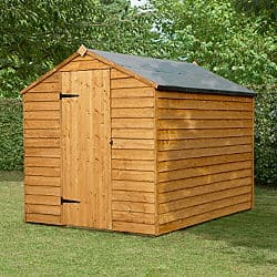 Overlap Wooden Shed Without Window