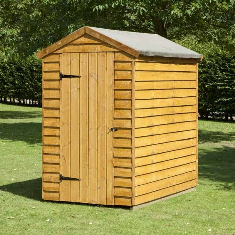 Overlap Wooden Shed With Three Windows What Shed