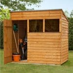 Pent Overlap Shed