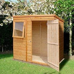 Shiplap Pent Roof Wooden Shed