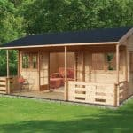 Shire Kingswood Log Cabin