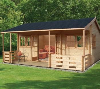 Shire Kingswood Log Cabin
