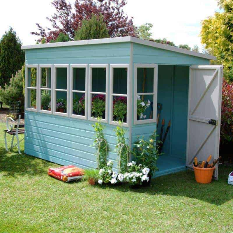 Shire sun pent 10 x 6 what shed for Garden shed 10x10