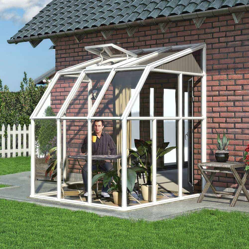 Palram White Sun Room What Shed