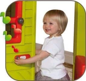 Smoby Floralie Playhouse bell